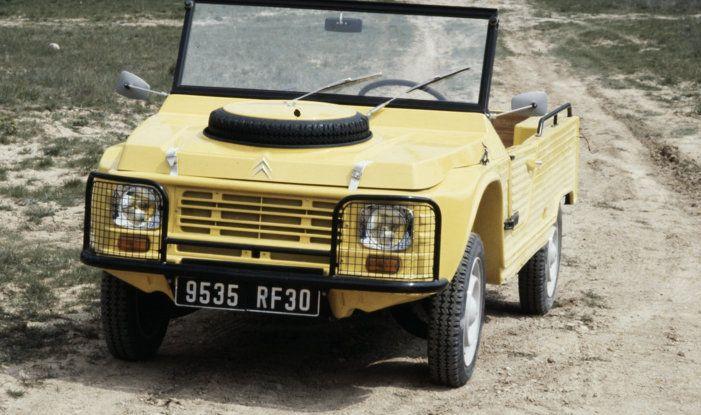 Méhari 4×4: la trazione integrale secondo Citroën - Foto 2 di 7