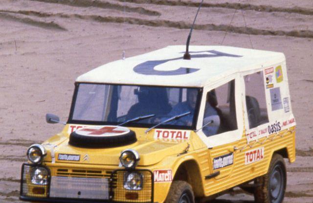 La Méhari auto medica alla Parigi-Dakar - Foto 2 di 4