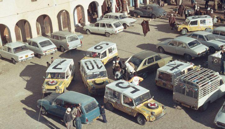 La Méhari auto medica alla Parigi-Dakar - Foto 3 di 4