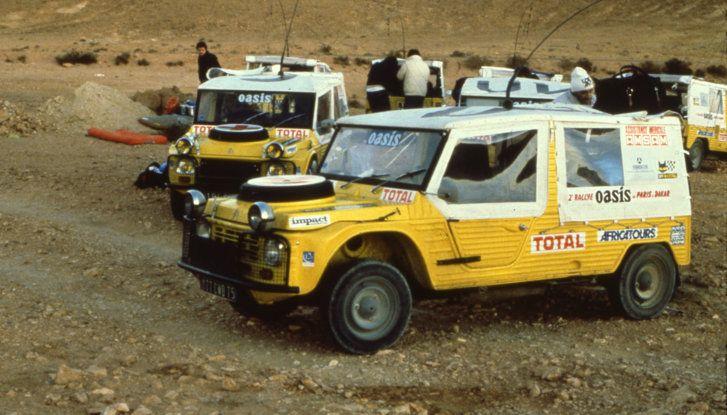 La Méhari auto medica alla Parigi-Dakar - Foto 4 di 4