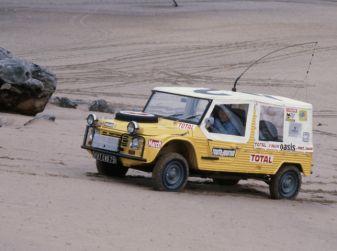 La Méhari auto medica alla Parigi-Dakar