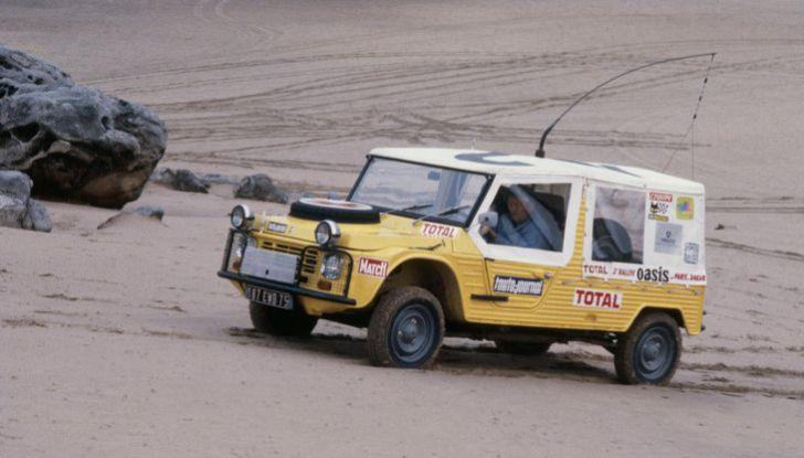 La Méhari auto medica alla Parigi-Dakar - Foto 1 di 4