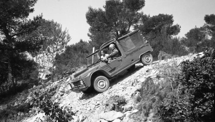 Méhari 4×4: la trazione integrale secondo Citroën - Foto 6 di 7