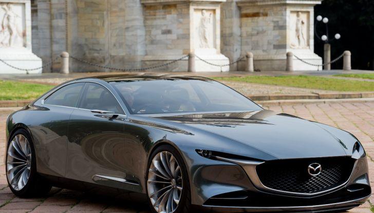 Mazda Vision Coupé 2018, la Concept dell'anno celebrata con l'arte - Foto 1 di 11
