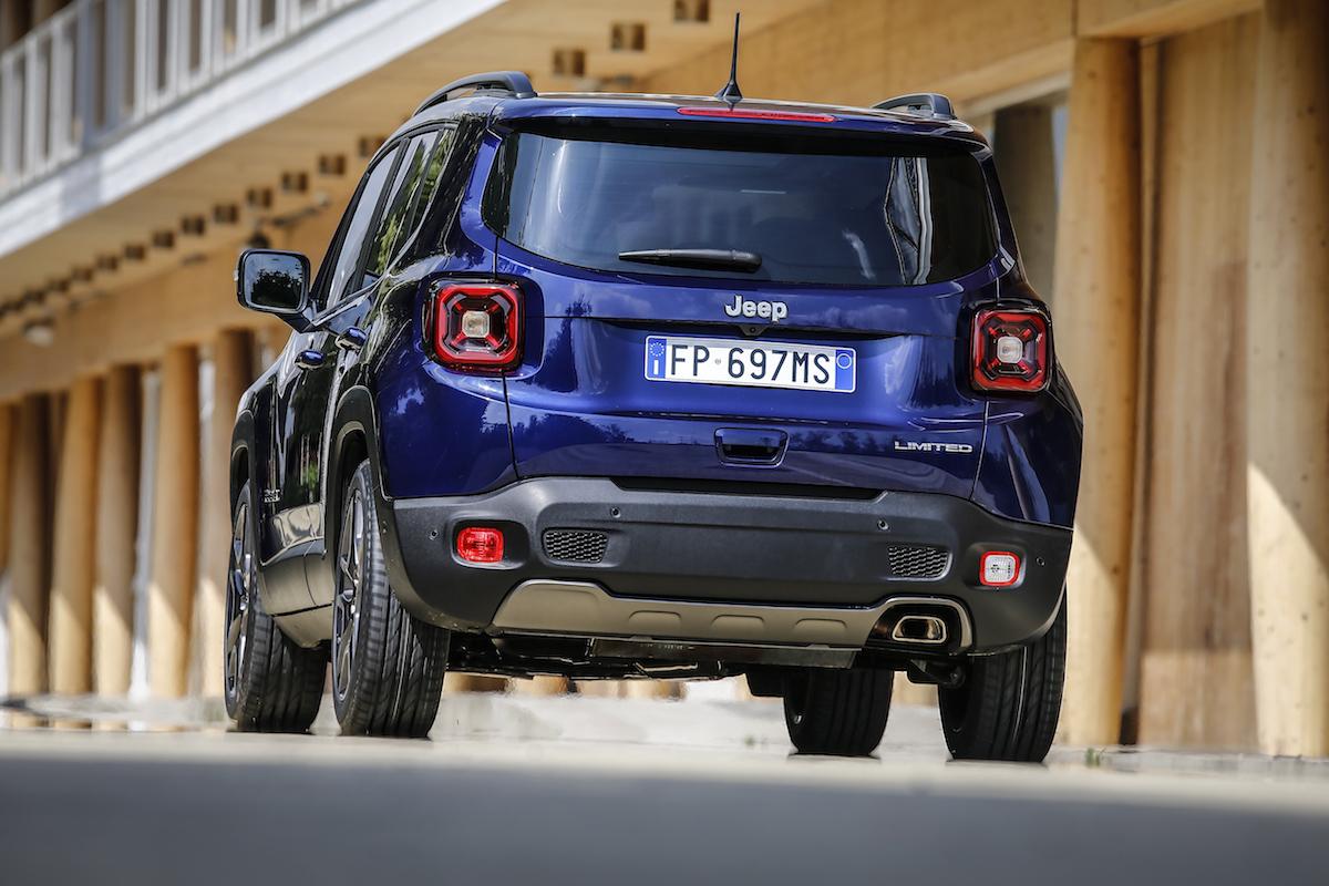 Jeep Renegade 2019 posteriore