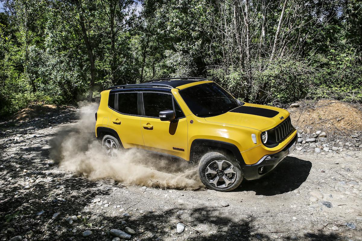 Jeep Renegade Trailhawk Test in offroad