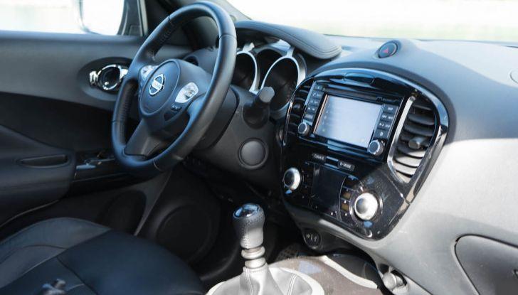 Prova Nissan Juke, Crossover Total Black con l'1.5 dCi da 110CV - Foto 13 di 37