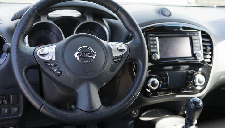 Prova Nissan Juke, Crossover Total Black con l'1.5 dCi da 110CV - Foto 18 di 37