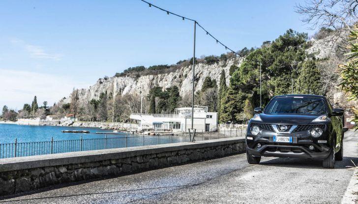 Prova Nissan Juke, Crossover Total Black con l'1.5 dCi da 110CV - Foto 20 di 37