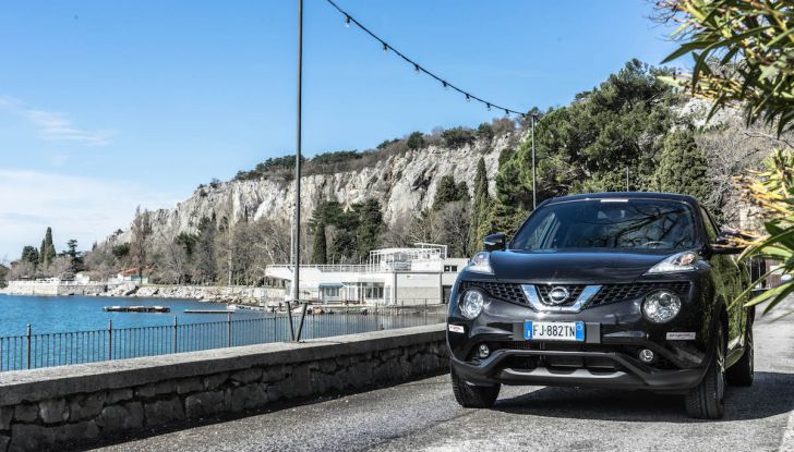 Prova Nissan Juke, Crossover Total Black con l'1.5 dCi da 110CV - Foto 21 di 37