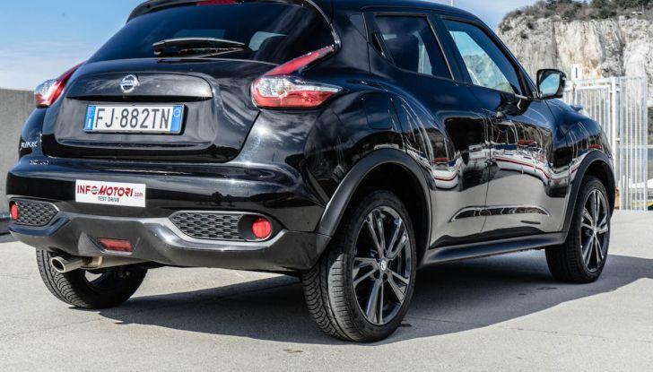Prova Nissan Juke, Crossover Total Black con l'1.5 dCi da 110CV - Foto 27 di 37