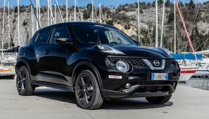 Prova Nissan Juke, Crossover Total Black con l'1.5 dCi da 110CV - Foto 29 di 37