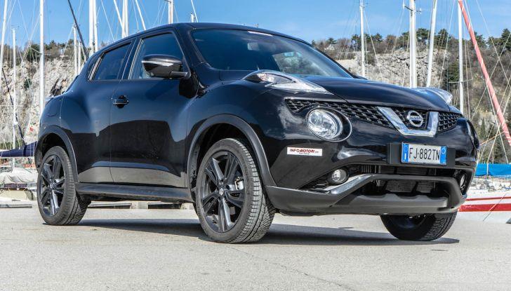 Prova Nissan Juke, Crossover Total Black con l'1.5 dCi da 110CV - Foto 30 di 37