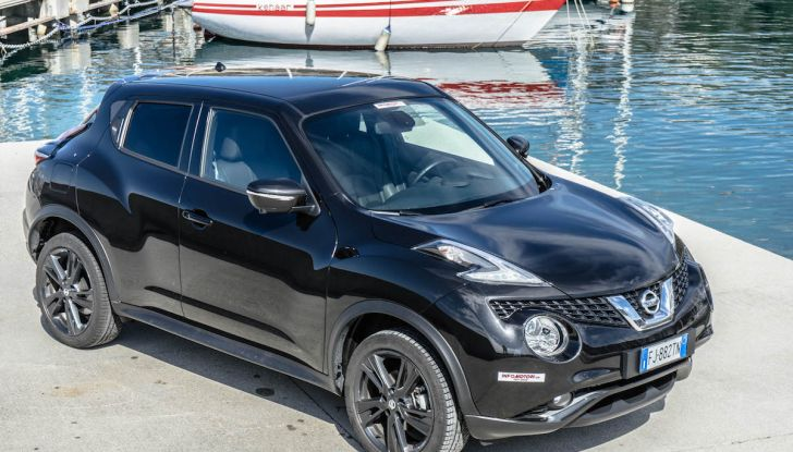 Prova Nissan Juke, Crossover Total Black con l'1.5 dCi da 110CV - Foto 31 di 37