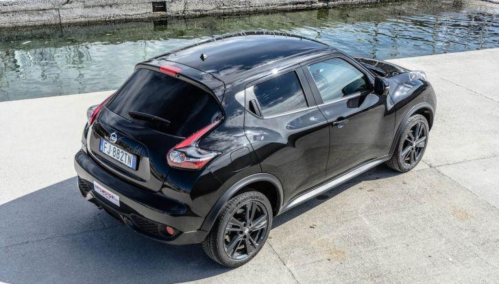 Prova Nissan Juke, Crossover Total Black con l'1.5 dCi da 110CV - Foto 33 di 37