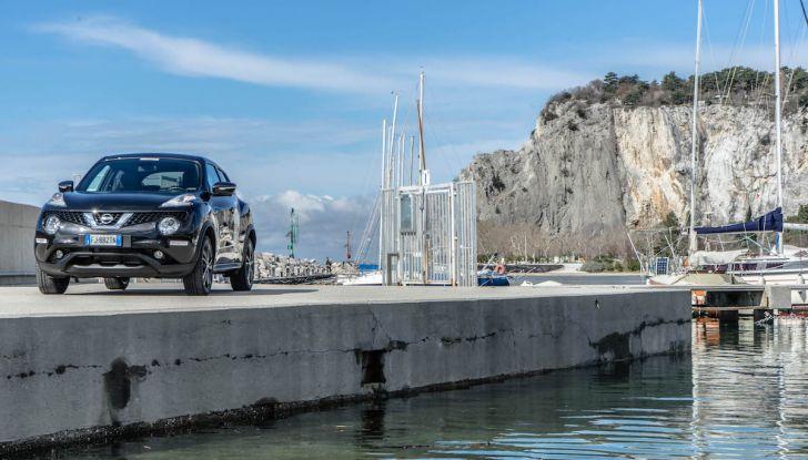 Prova Nissan Juke, Crossover Total Black con l'1.5 dCi da 110CV - Foto 35 di 37
