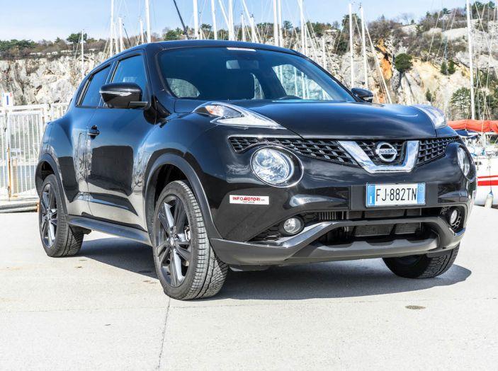 Prova Nissan Juke, Crossover Total Black con l'1.5 dCi da 110CV - Foto 37 di 37