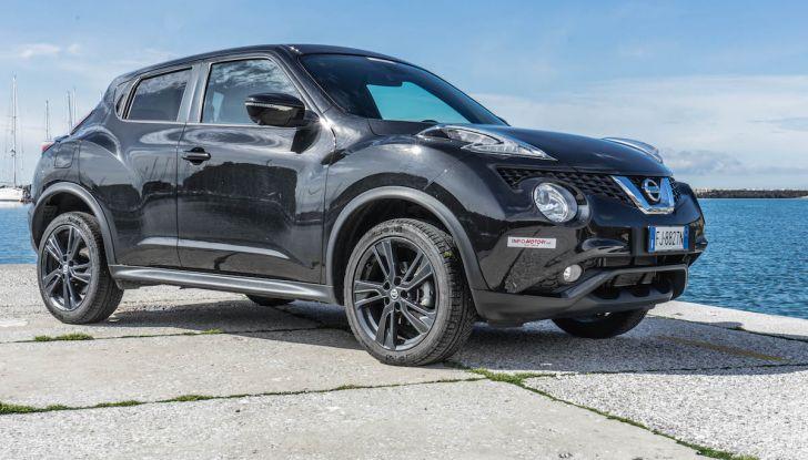 Prova Nissan Juke, Crossover Total Black con l'1.5 dCi da 110CV - Foto 9 di 37