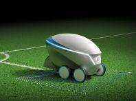 Nissan Pitch-R traccia i campi da calcio in 20 minuti