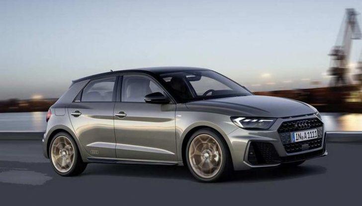 Nuova Audi A1 2018: motori, immagini e dettagli - Foto 1 di 6