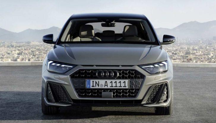 Nuova Audi A1 2018: motori, immagini e dettagli - Foto 2 di 6