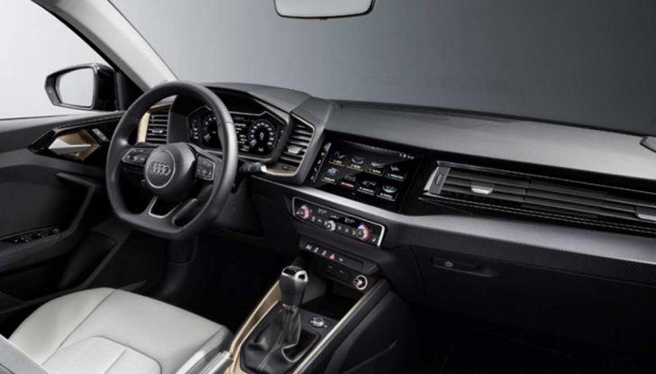 Nuova Audi A1 2018: motori, immagini e dettagli - Foto 3 di 6