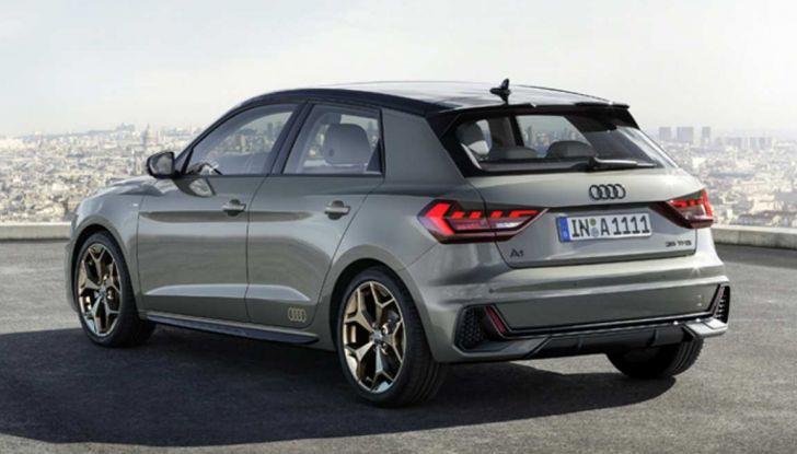 Nuova Audi A1 2018: motori, immagini e dettagli - Foto 4 di 6