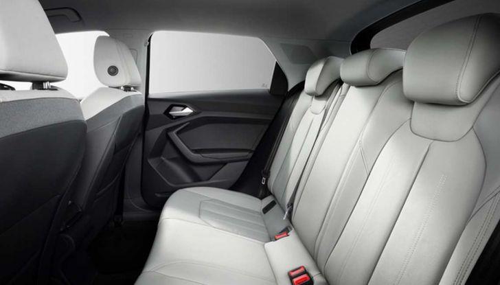 Nuova Audi A1 2018: motori, immagini e dettagli - Foto 5 di 6