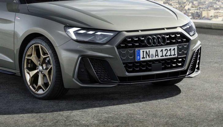 Nuova Audi A1 2018: motori, immagini e dettagli - Foto 6 di 6
