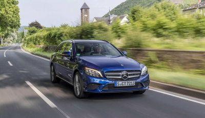 Nuova Mercedes Classe C 2019 restyling, prezzi da 37.200 euro