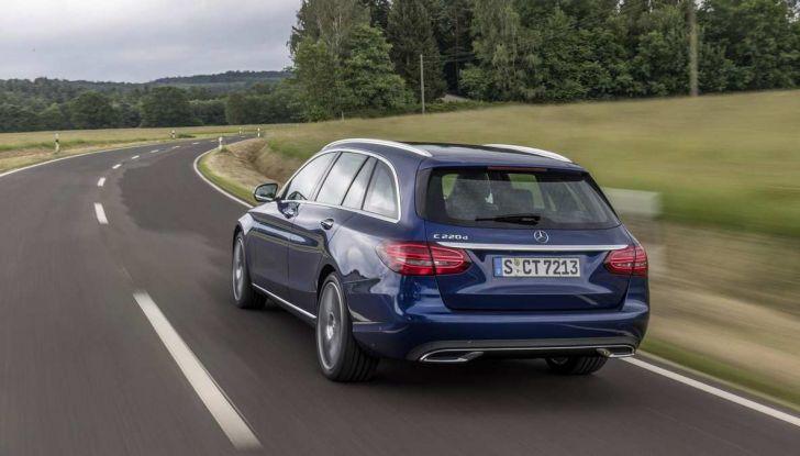 Nuova Mercedes Classe C 2019 restyling, prezzi da 37.200 euro - Foto 3 di 12