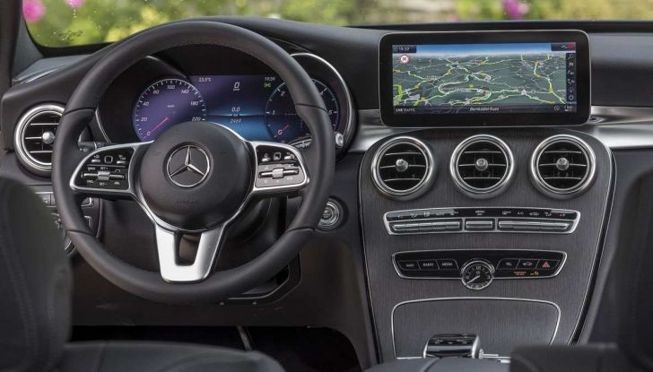Nuova Mercedes Classe C 2019 restyling, prezzi da 37.200 euro - Foto 5 di 12