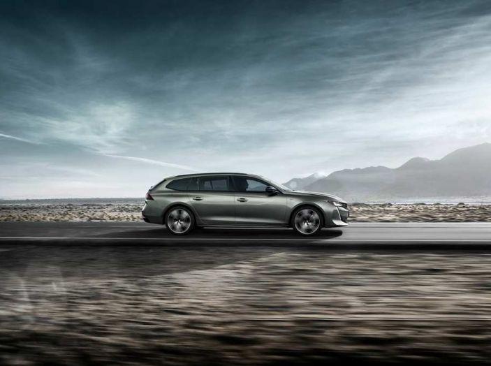 Nuova Peugeot 508 SW, la rinnovata station wagon di segmento D - Foto 2 di 12