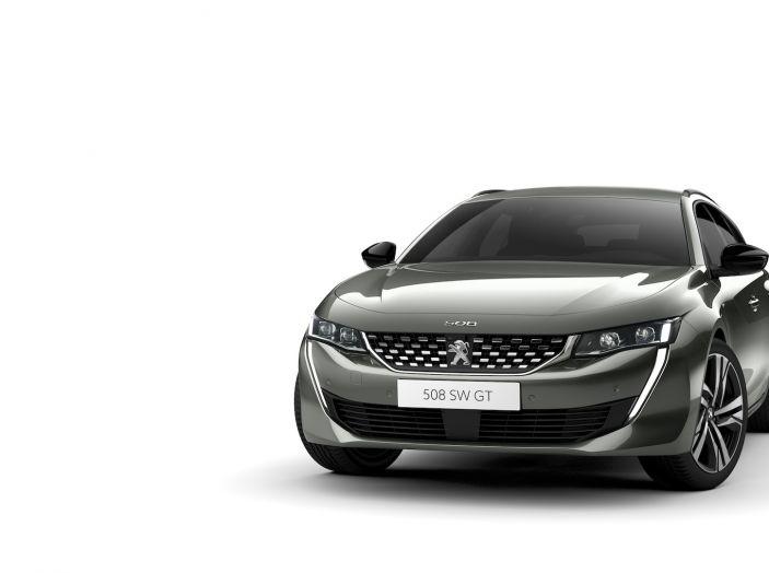 Nuova Peugeot 508 SW, la rinnovata station wagon di segmento D - Foto 5 di 12