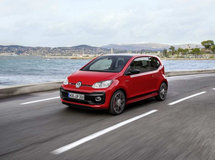 Nuova Volkswagen Up! GTI completa la gamma delle VW sportive
