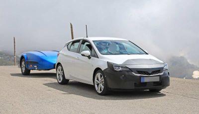 Opel Astra Facelift 2018, si avvicina il debutto della segmento C tedesca