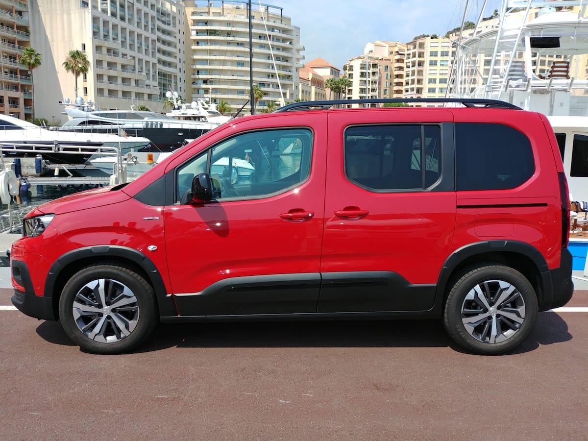 Peugeot Rifter 2018 Test Drive