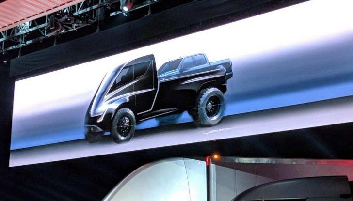 Pick-up elettrico Tesla confermato, arriva nel 2021 - Foto 4 di 4