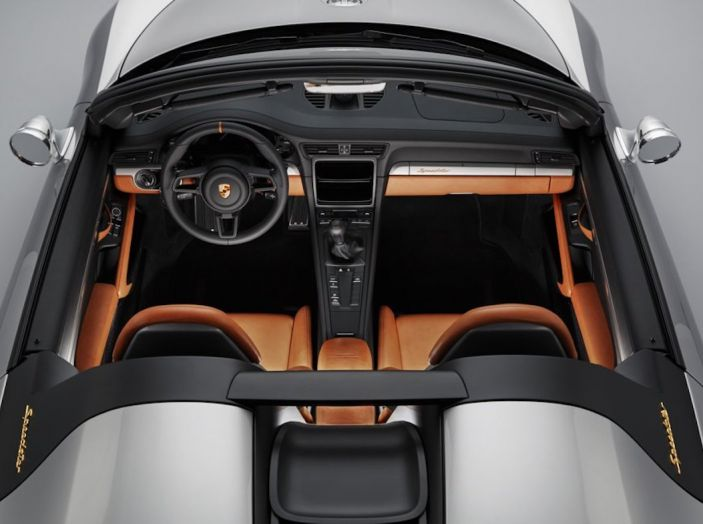 Porsche 911 Speedster: il ritorno di un mito per il 70° anniversario - Foto 26 di 26