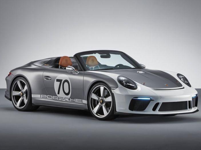 Porsche 911 Speedster: il ritorno di un mito per il 70° anniversario - Foto 1 di 26