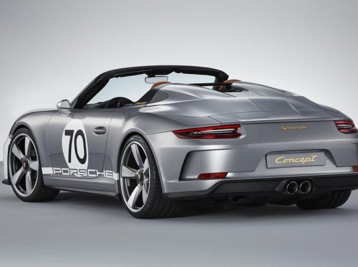 Porsche 911 Speedster: il ritorno di un mito per il 70° anniversario - Foto 2 di 26