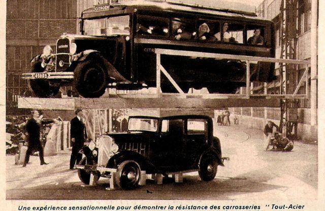 """Le innovazioni di André Gustave Citroën: dal """"Moteur Flottant"""" alla """"monoscocca"""" - Foto 6 di 7"""