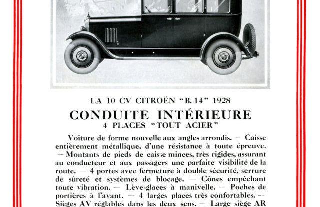 """Le innovazioni di André Gustave Citroën: dal """"Moteur Flottant"""" alla """"monoscocca"""" - Foto 2 di 7"""