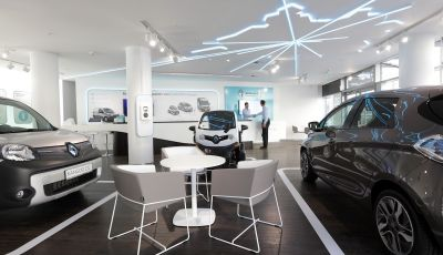 Renault Electric Vehicle Experience Center al debutto a Berlino