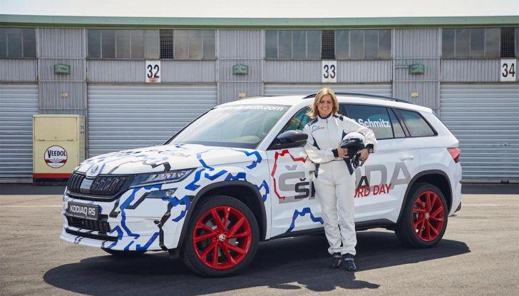 Skoda Kodiaq RS 2018: record al Nurburgring con Sabine Schmitz - Foto 3 di 4