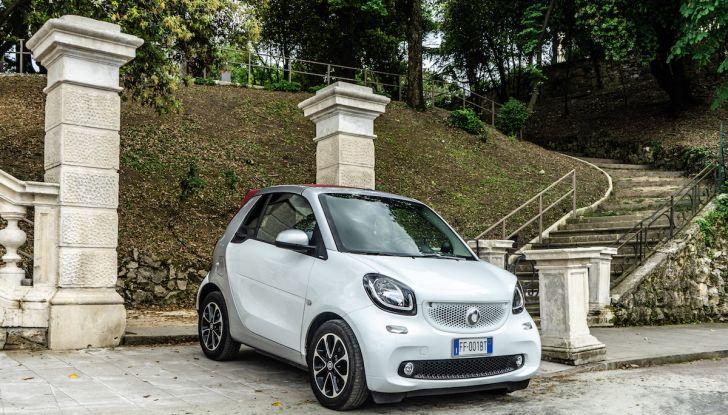 Prova Smart ForTwo Cabrio, la libertà della citycar per eccellenza - Foto 12 di 36