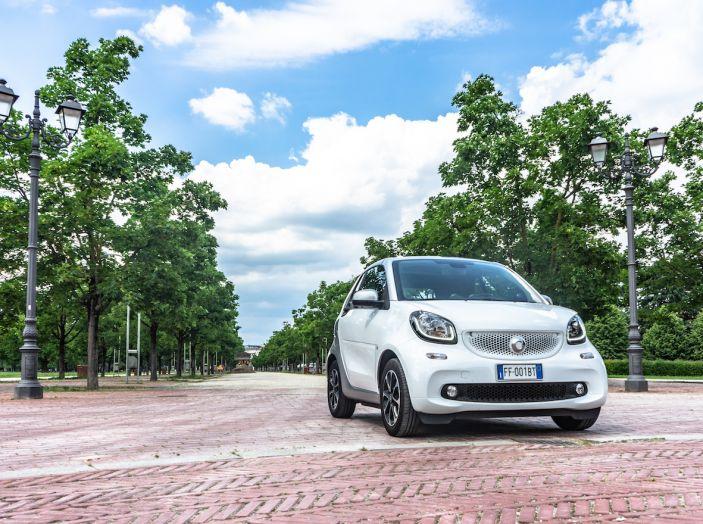Prova Smart ForTwo Cabrio, la libertà della citycar per eccellenza - Foto 5 di 36