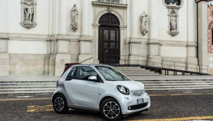 Prova Smart ForTwo Cabrio, la libertà della citycar per eccellenza - Foto 36 di 36