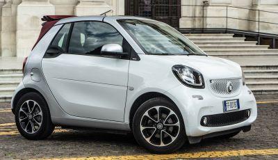 Prova Smart ForTwo Cabrio, la libertà della citycar per eccellenza