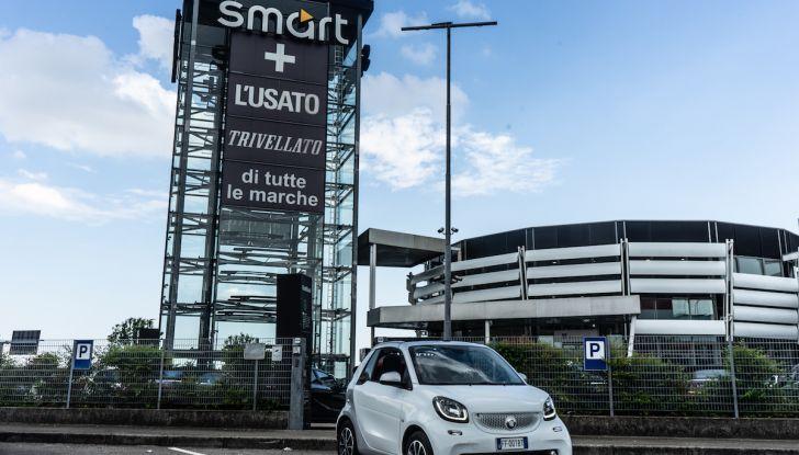 Prova Smart ForTwo Cabrio, la libertà della citycar per eccellenza - Foto 33 di 36